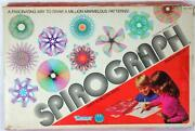 1979 Kenner Spirograph Educational Design Drawing Toy No 1421 Msg Pens And 1 Wheel