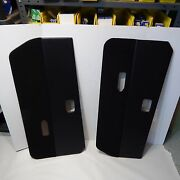 New Pair Of Door Panels For Triumph Gt6 1971-1973 Black Made In The Uk