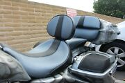 Harley Bagger, Custom Solo W/backrest, Passenger And Trunk Pad, Candc Baggers Hd 511