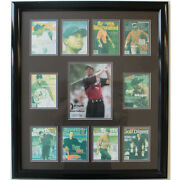 Tiger Woods Autographed 8 X 10 Photo With Mini Sports Illustrated Covers + Coa