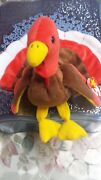 Gobbles Ty Beanie Baby Collectible Rare 1996