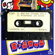 Atari Artifact - Chubby Checker Sings And039dig Dugand039 - One Of Kind - Cassette And03983