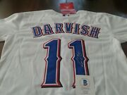 Yu Darvish Signed/autographed Brand New Majestic Jersey Beckett Authenticated