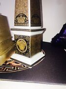 Versace Obelisk Arcadia Gold Made In 2003 Retired Retail 2000 Collectible Sale