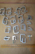 Lot Of 15 Universal Hd Camper/canopy Shell Topper Aluminum Clamp Bracket 1863