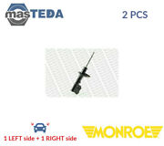 2x Monroe Front Shock Absorbers Struts Shockers 11170 P New Oe Replacement