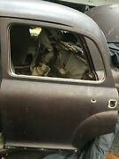 Mercedes Ponton 180 Used Right Rear Door With Hinges
