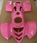 Atv Body Plastic Fender And Vents For Taotao Ata-110b 110cc Pather Pink Mess Paint