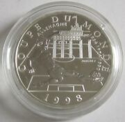 France 10 Francs 1997 Football World Cup Germany Silver