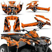 Graphic Kit Can-am Outlander L Max 570/450 Atv Quad Decal Wrap 2014-2021 Reap O