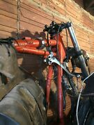 Reduced Price- Motorcycle Frame W/ Satchel Might Be Bsa