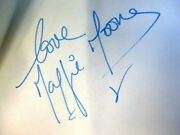 Singer Maggie Moone Signed Autograph