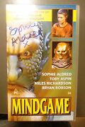 Vhs Video Mindgame Doctor Who. Signed By Sophie Aldred Ace