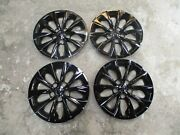 Set Of 4 New Camry 2015 15 2016 16 Hubcaps 16 Wheel Covers Black 61175
