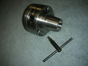 New Grizzly 10+11 Inch Lathe 5c Collet Chuck With 1 3/4-8 Backing Plate New