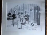 Sam Gross American Cartoonist Signed Limited Edition Print 424/1500 Frogs Legs