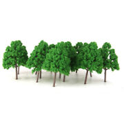 25pcs Scale Model Trees N Scale Train Layouts Architectural Model Supplies