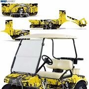 Club Car Graphic Kit Golf Cart Decal Sticker Wrap Accessories Parts 83-14 Reap Y