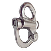 Stainless Steel 316 Fixed Eye Snap Shackle 2-5/8 Sailboat Quick Release Locking