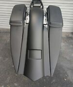 14-2018 Touring Harley Davidson Stretched Saddlebags And Rear Fender Bags Bagger