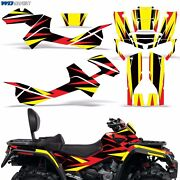 Graphic Kit Can-am Outlander Max/xmr 500/650/800 Quad Decal Wrap 06-12 Parts Rs