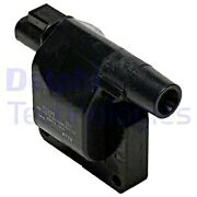 Delphi Ignition Coil For Nissan Ford 100 Nx Maxima Iii Micra I Pick Up 1953306