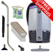 Proteam® Super Coach Pro 6 Backpack Vac W/ Telescoping Wand Kit And 12 Filter Bags