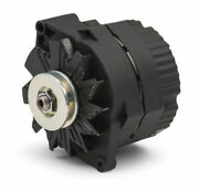 Chevy High Output Alternator Small Big Block 100a 1 Wire One Wire Flat Black