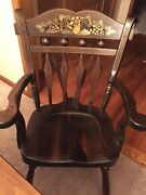 Very Rare Ethan Allen Antique Old Tavern Pine Collection Arm Chair 12 6011