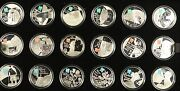 Royal Mint London 2012 Celebration Of Britain 18 Coins Andpound5 Silver Proof Set 2009
