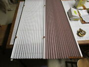 Rv Day And Night Pleated Shades White/muave Pleated 41x28 Blinds