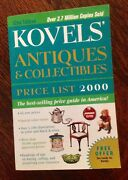 Kovelsand039 Antiques And Collectibles Price List - Year 2000 - Over 50000 Prices