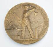 1917-1918 Wwi Bronze Medal - American Car And Foundry Co Service Gorham