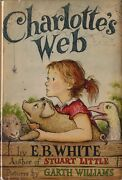 Charlotteand039s Web-e.b.white-1st/1st-with I-b Code- W/dj-super Collectible Book