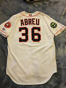 Choice Of Houston Astros Milb Autograph Game Used Jersey