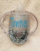 9oz Personalized Toddler Sippy Cups Free Shipping