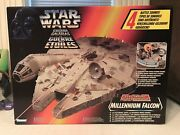 Star Wars The Power Of The Force Electronic Millenium Falcon Tri-logo