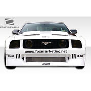 Circuit Wide Body Kit 8 Piece Fits Ford Mustang 05-09 Duraflex