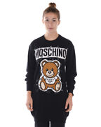 Moschino Dress Wool Made In Italy Woman Black V04935501 1555 Sz.xxs Make Offer
