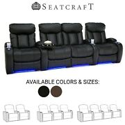 Seatcraft Orleans Home Theater Seating Recliners Seat Chair Couch Living Room