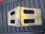 Used Copperloy Tractor Trailer Semi Truck Cast Aluminum Tire Wheel Safety Chock