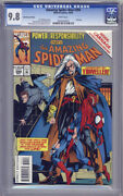 Amazing Spider-man 394 Cgc 9.8 Nm White Pages Variant Holochrome Edition Error