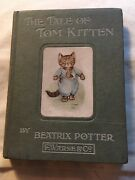 The Tale Of Tom Kitten, Beatrix Potter 1907, 1st Edition