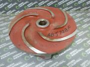 Used Unbranded Open Impeller For Weir Corp. Hazleton Pump 1-1/2 Bore 5 Vane