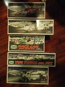 Lot Of 5 Unopened Hess Trucks - 2005 2006 2009 2010 2014 Collectible