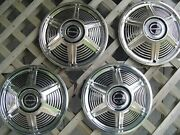 1965 65 Ford Mustang 13 Inch Hubcaps Wheelcovers Center Caps Antique Vintage