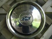 One Vintage Chevrolet Chevy Coupe Sedan Master Deluxe Wheel Cover Hubcap