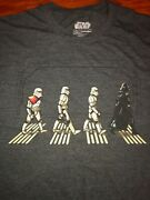 Beatles Abbey Road Star Wars Spoof T-shirt Xx-large Pre-owned