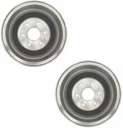 Pair Set 2 Rear Brake Drums Acdelco Pro For Chevy K1500 11-5/32 X 2-3/4 Brakes