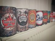 Vintage Motor Oil Cans Rusty Can Motoring Tin Can Replica Rust Antique Decor